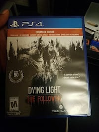 Dying Light PS4 game case DuPont, 98327