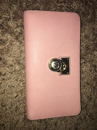 Pink michael kors leather long wallet Duncan, 29334