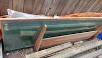 8 safety glass panels. 2 by 8 feet Port Coquitlam, V3B 3J8