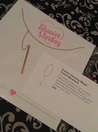 FRASIER SILVER MAGIC TOUCH NECKLACE  3151 km
