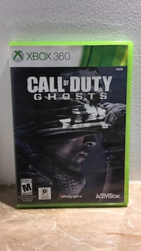 Call of duty ghosts xbox 360 game case Kirkland, H9J 1K8
