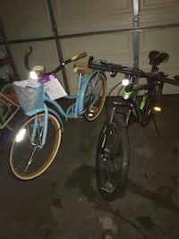 Black Mountain bike for sale. Message offer