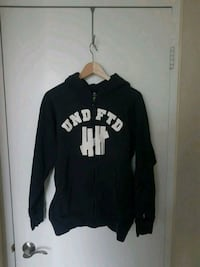 Undefeated Zip Up Hoodie (Dark Blue) Calgary, T2P 1V5
