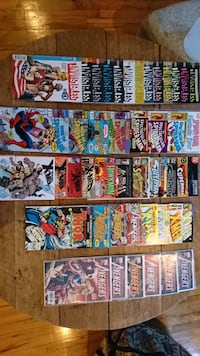 assorted Marvel comic book collection Montréal, H2C 1G1
