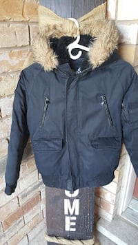 Black boys winter jacket Brampton, L7A