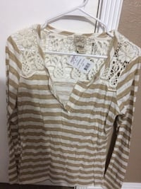 New Long Sleeve Striped Top San Leandro, 94577