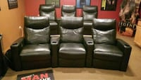 Leather theater recliners Bolingbrook, 60440