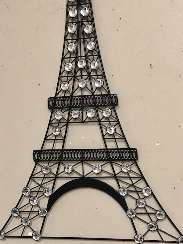 Bling Paris Eiffel Tower! 31x18 0