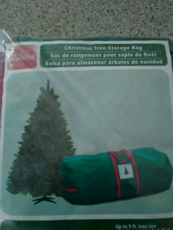 Used Christmas Tree Storage Bag For Sale In Union City Letgo
