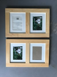 Two Wooden Photo Frames 15 km