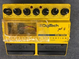 Digitech Distortion Pedal