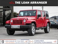 2015 jeep wrangler with 89,849km and 100% approved financing