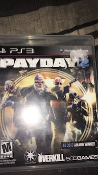 Payday 2 PS3 game great condition Elkhart, 46514