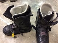 pair of black-and-white snowboard boots Burnaby, V5H 2W8