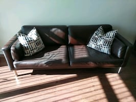 Leather Couch for Sale!