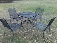 Patio Set in Black Centreville