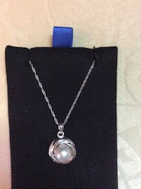 Real pearl set in silver elegant enchanted  and magically blessed! Frederick