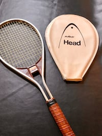 Vintage AMF Head Edge Tennis Racquet with Cover