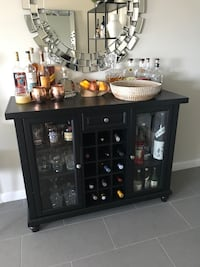 Black Modern Mini Wine Bar Fort Lauderdale, 33301