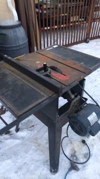 black and gray table saw Sherwood Park, T8A 1G4