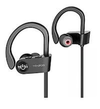 Bluetooth Headphones, MindKoo IPX6 Waterproof Wireless