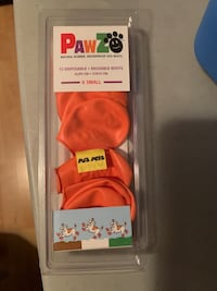 Pets- PAWZ - X small -Natural rubber, waterproof dog boots