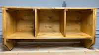 Cubby coat rack