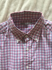 red, white, and black plaid sport shirt New York, 11222