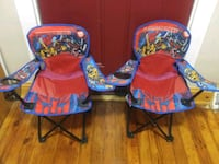 2 Kids Transformers beach/pool Chairs Wilmington