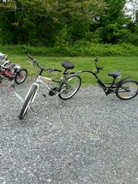 two black and one red BMX bikes Keyport, 07735