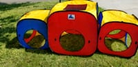 red and blue tent play gym Knoxville, 37931