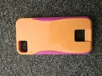 yellow and pink silicone iPhone case Waterloo