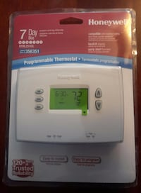 NEW Honeywell 7-day Programmable Thermostat Martinsburg