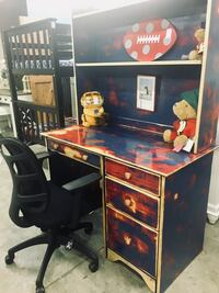 Awesome Kids Desk refinished Greensboro