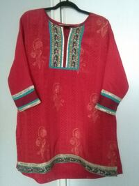 red tunic top style TORONTO