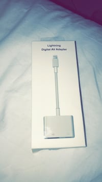 iPhone HDMI adapter for TV