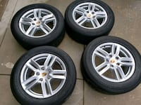 "Porsche Cayenne OEM 18"" wheels and tires Daniels, 21043"