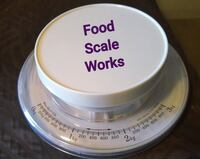 FOOD SCALE  perfect sizes