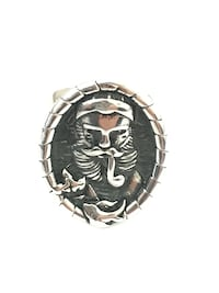 NEW Bearded Pipe Outdoor Ring - Size 10 Silver Spring