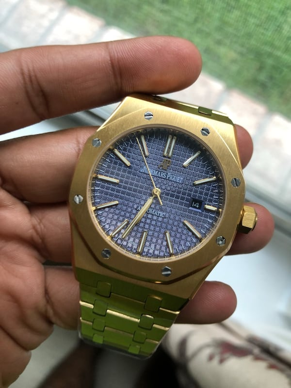 Audemars Piguet Royal Oak 18k Watch 7a3e49a1-5c2b-4b53-a0f3-a7fb13624157