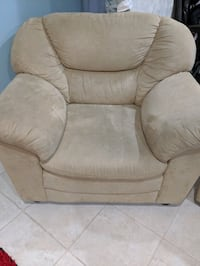 Love seat and single seat