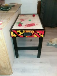 white and red wooden table Thomasville, 27360