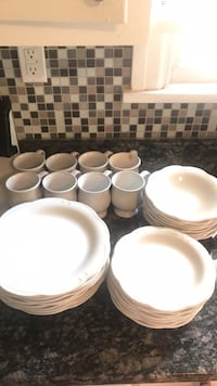 white ceramic plates and bowls Phoenixville, 19460