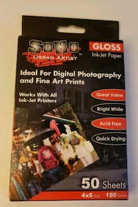 SOHO Glossy Ink-Jet Photo Paper - 4x6 Germantown, 20874