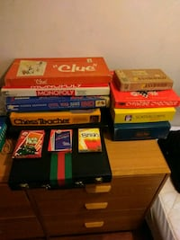 13 vintage board games  35 km