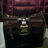 Leather crossbody purse/bag.  New without tags