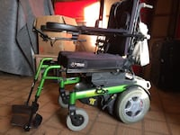 black and green motorized wheelchair Chicago, 60610