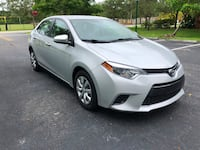 2016 TOYOTA COROLLA CLEAN TITLE  Hollywood