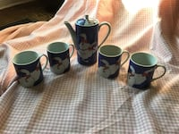 Vintage Country Coffee Set Mississauga, L5B 2L6