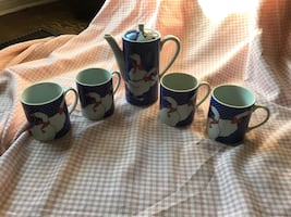 Vintage Country Coffee Set